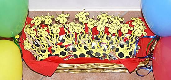 Giraffen op knijper