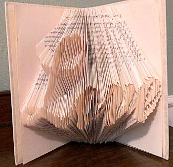 Boekkunst 4 - Een gat in het patroon vouwen