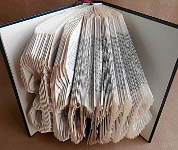 Vouw een boekkunstwerk Home
