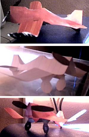 Vliegtuigje vouwen