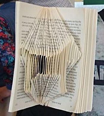 Boekkunst 3 - Waar naartoe vouwen