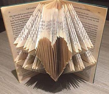 Boekkunst 2 - Vouwen van een simpel patroon