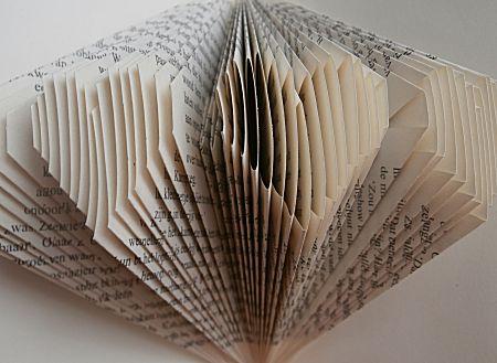 3D boek vouwen